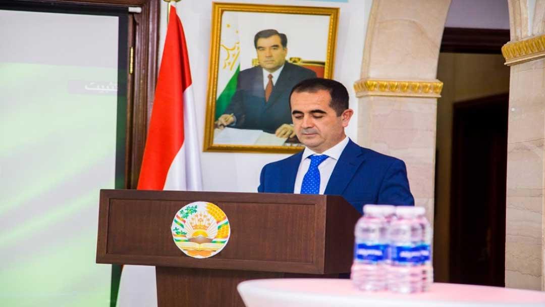حفل سفارة طاجيكستان